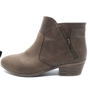 Faded Glory Women's Zipper Boot  Size 7.5, NWOT